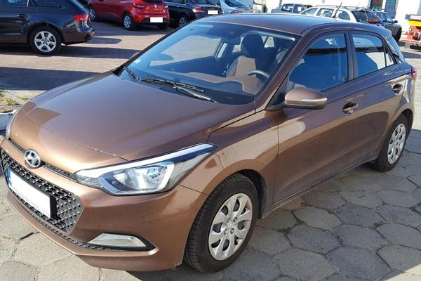 Auto Zastępcze Gdynia - Hyundai i20